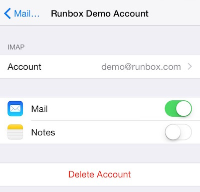 iPhone and iPad Set Up Guide for Runbox | Runbox Help